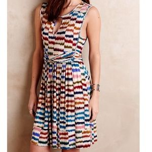 Maeve Anthropologie Colorful Sennebec Mini Dress